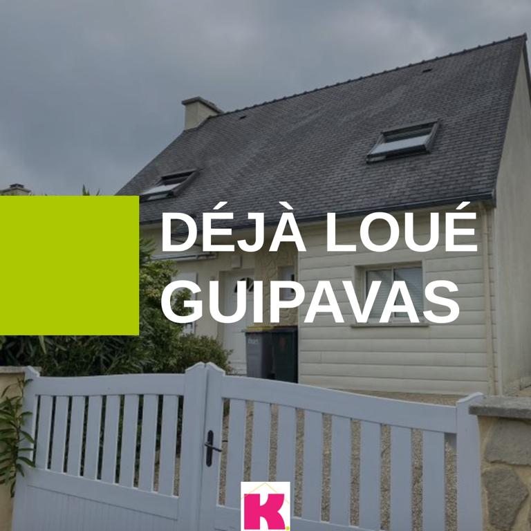 Immobilier sur guipavas plabennec gouesnou kali immobilier - Garage bervas kersaint plabennec ...