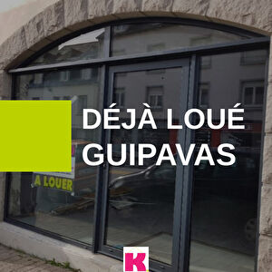 Local commercial 57m² bourg Guipavas